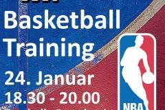 Basketball-Training mit TV Stans Januar