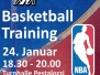 Basketball-Training mit TV Stans Januar