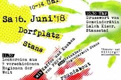 Flüchtlingstag Juni