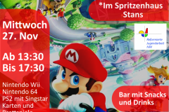 Game Nachmittag November