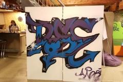 Graffiti Action Dezember 2020