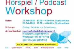 Hörspiel Workshop Klipp und Klang Februar