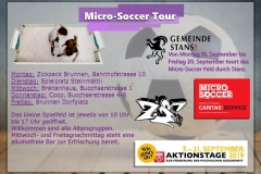 Micro Soccer Tour September