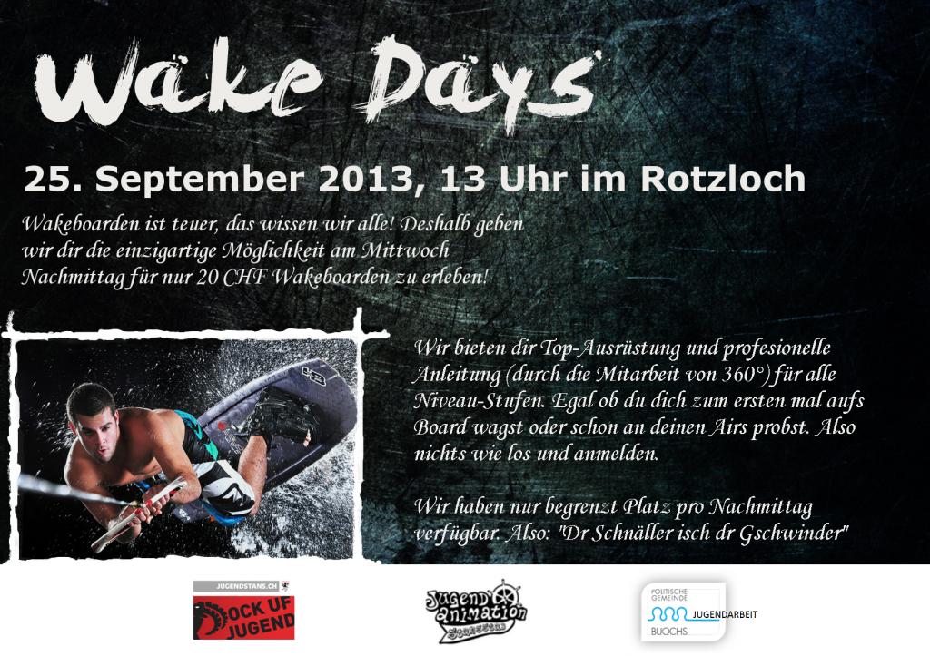 Wake Days 2013