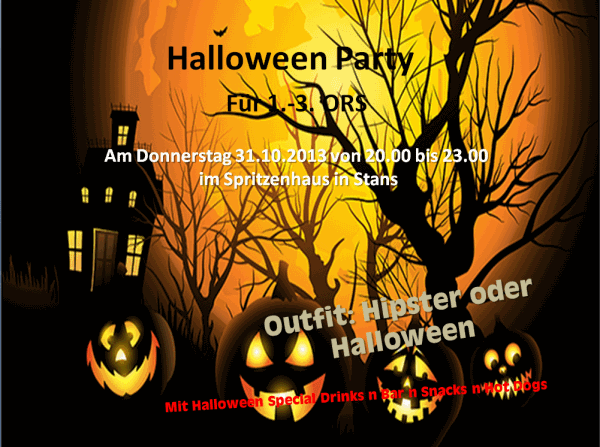 Halloweenparty 2013