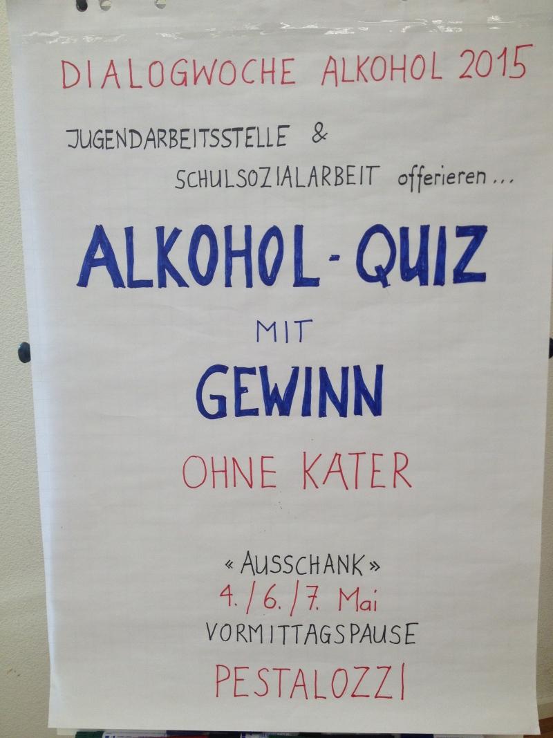 Dialogwoche Alkohol 2015