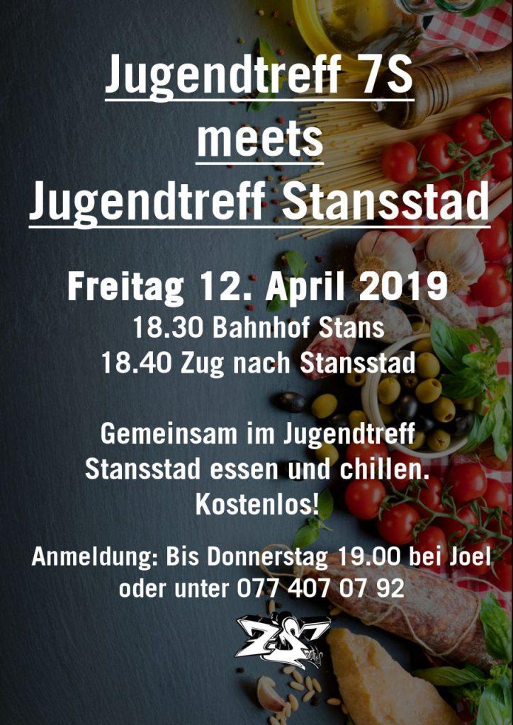 Jugendtreff 7S meets Jugendtreff Stansstad