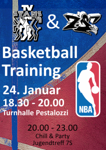 Basketball-Training mit TV Stans