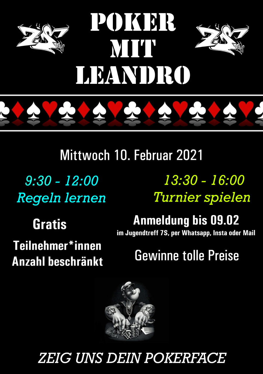 Poker mit Leandro