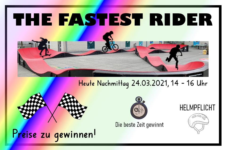 The fastest rider